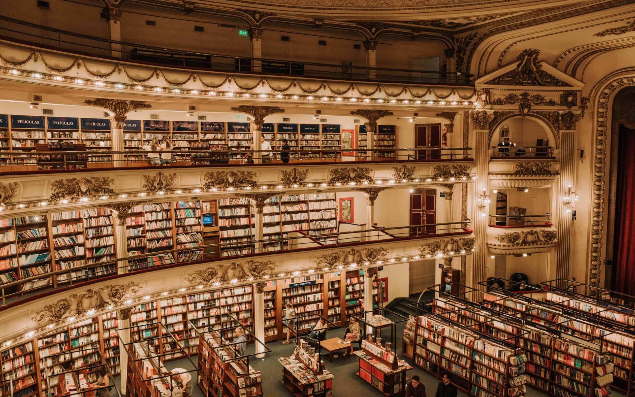 Ateneo splendid Buenos Aires księgarnia co zobaczyć