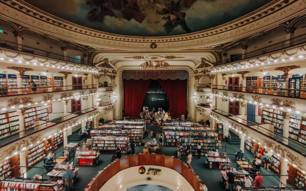ateneo splendid księgarnia najpiękniejsza księgarnia na świecie