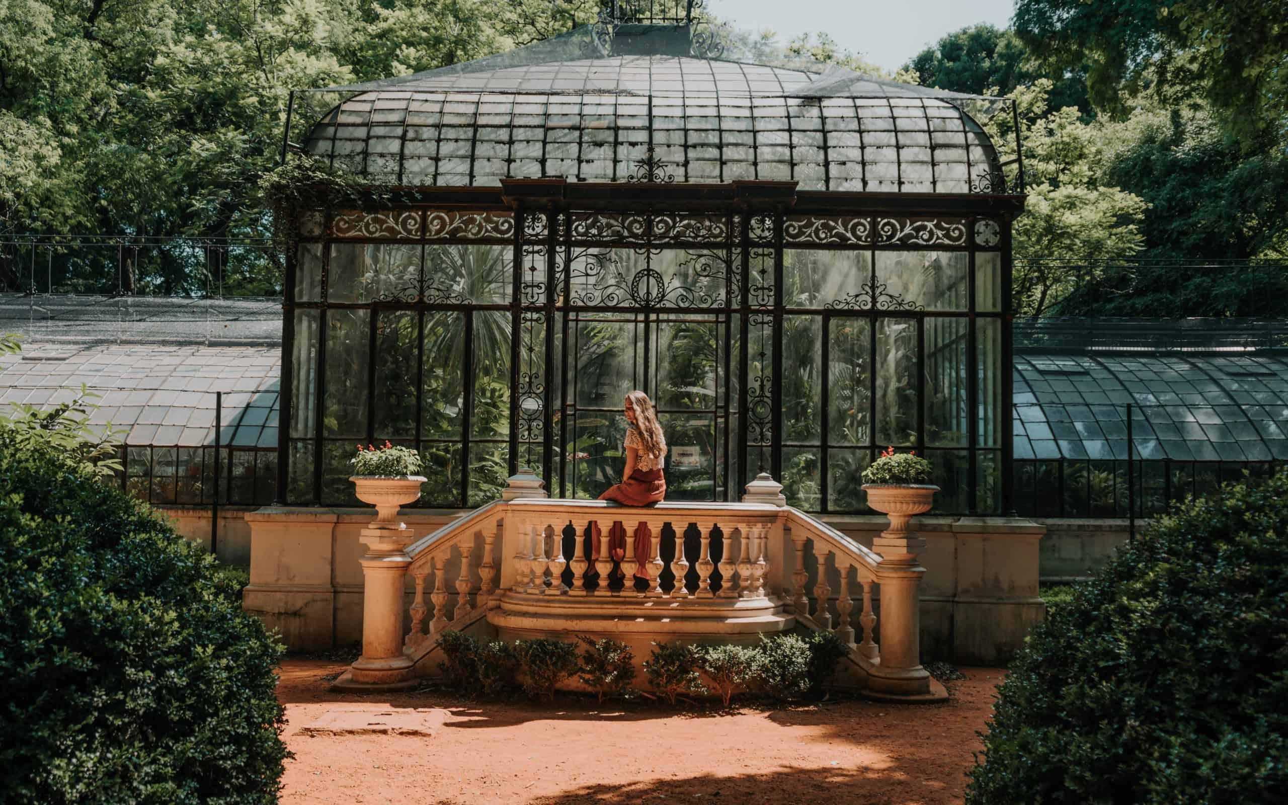 buenos aires ogród Botaniczny carlos thays przewodnik