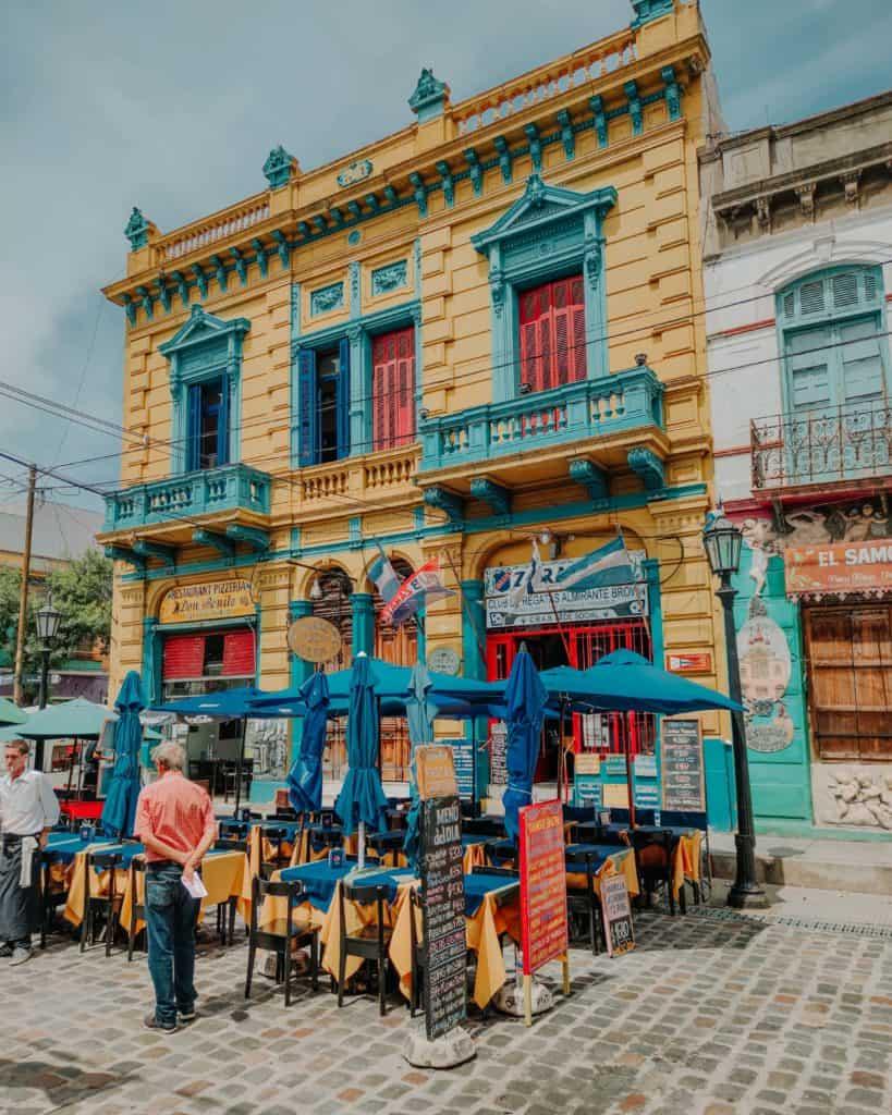 La Boca przewodnik po Buenos Aires
