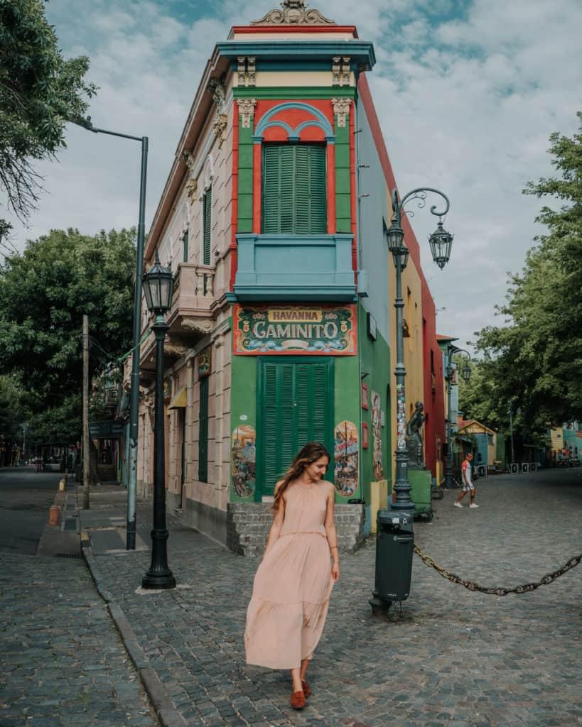La Boca Caminito przewodnik po Buenos atrakcja