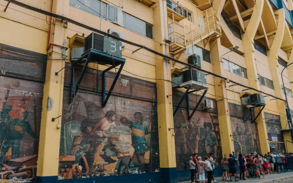 la bombonera stadion co zobaczyć w Buenos Aires