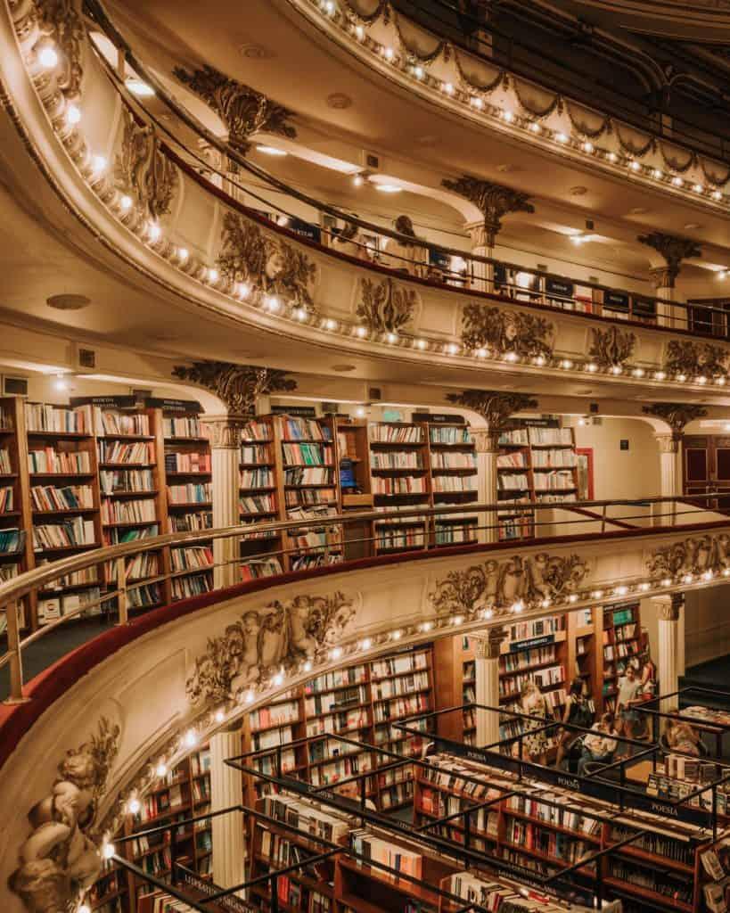 Księgarnia w Buenos Aires