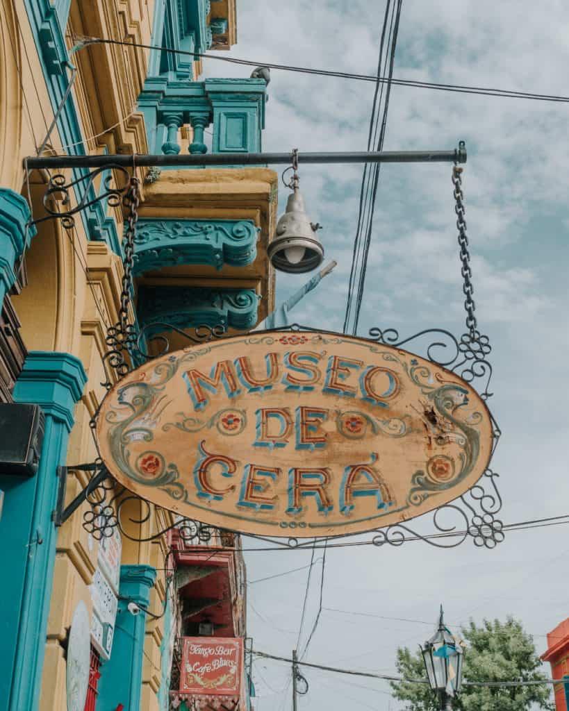 museo de cera Buenos Aires Przewodnik