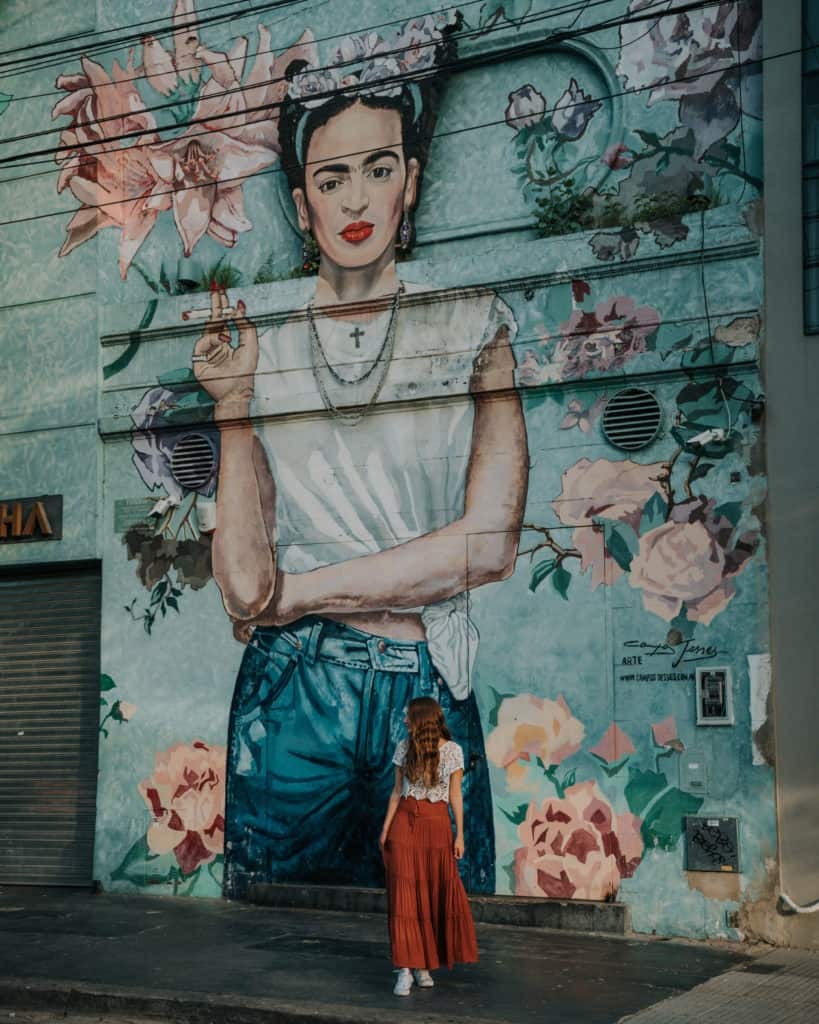 Palermo soho frida przewodnik po Bueno Aires, atrakcje, co zobaczyć