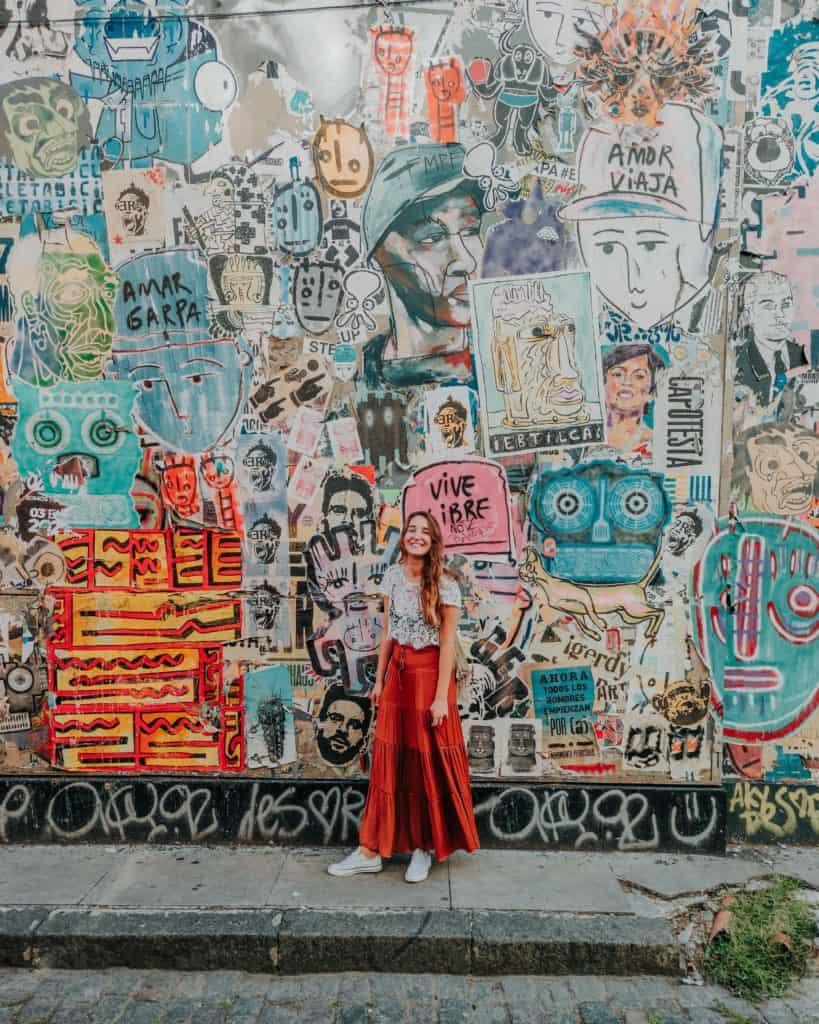 Palermo soho mural atrakcje