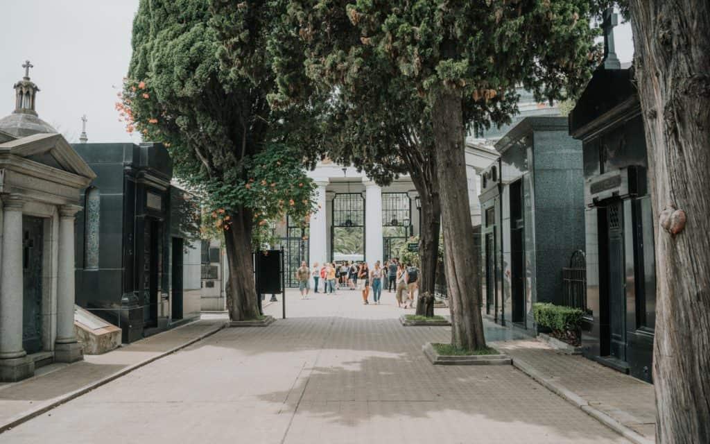 recoleta Cmentarz w Buenos Aires