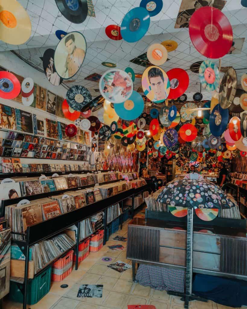 Sklep z płytami przewodnik po Buenos Aires