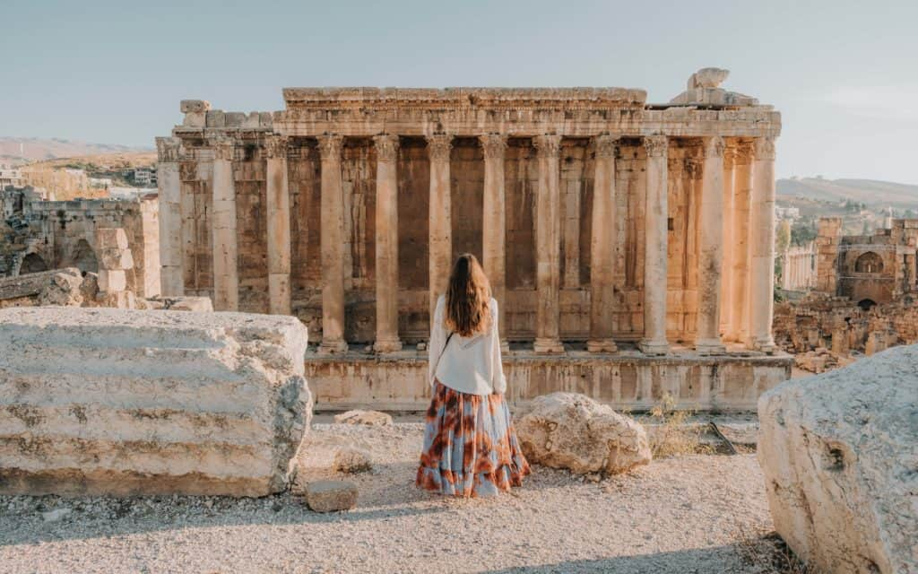 Baalbek girl Best Places in Lebanon