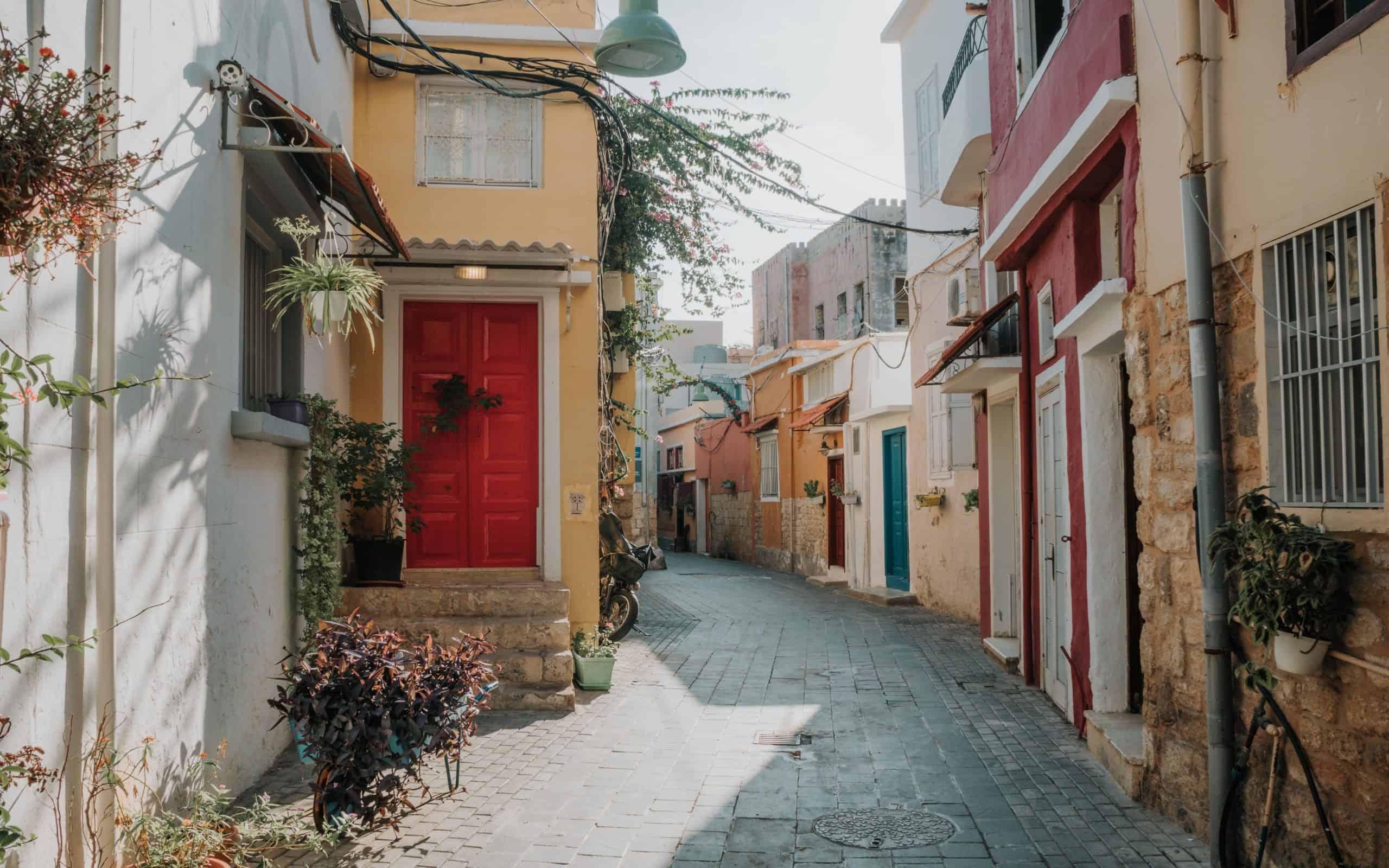 kolorowe uliczki Liban