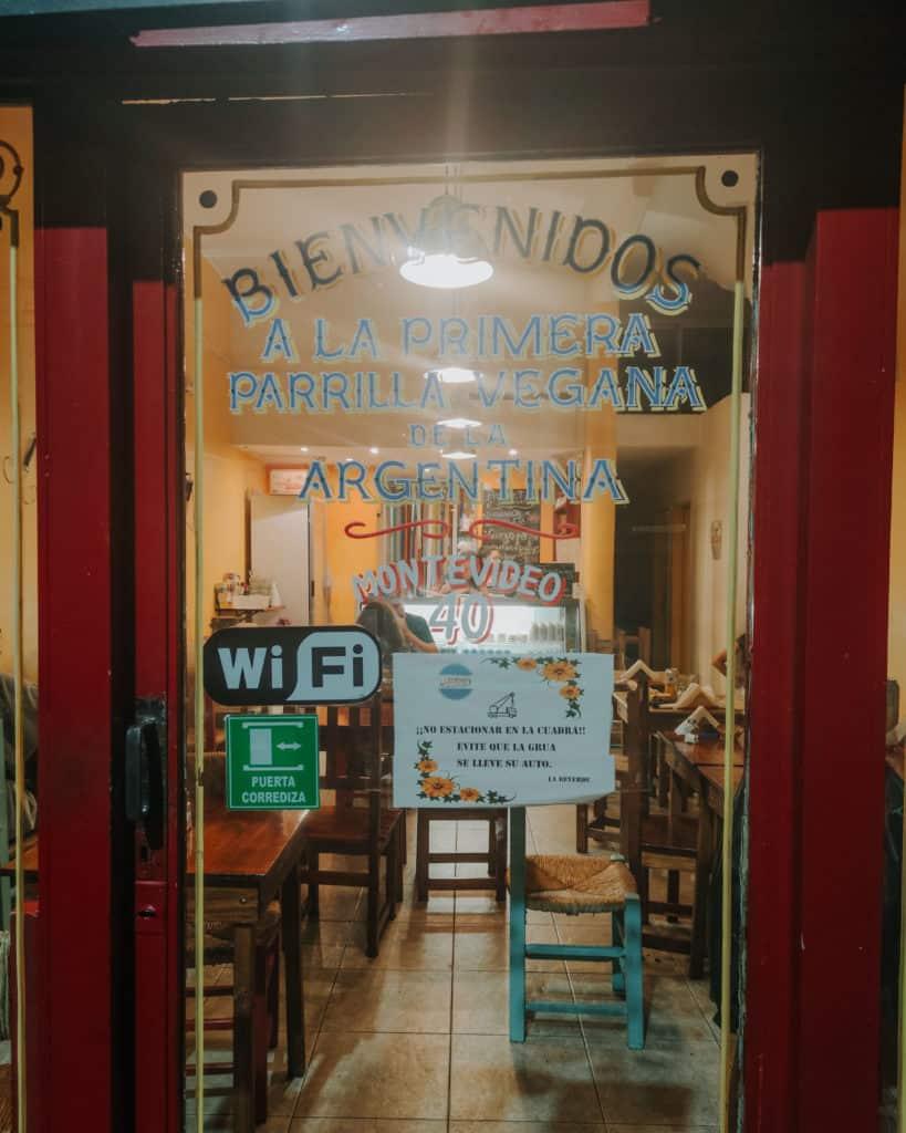 Vegan parilla Buenos Aires