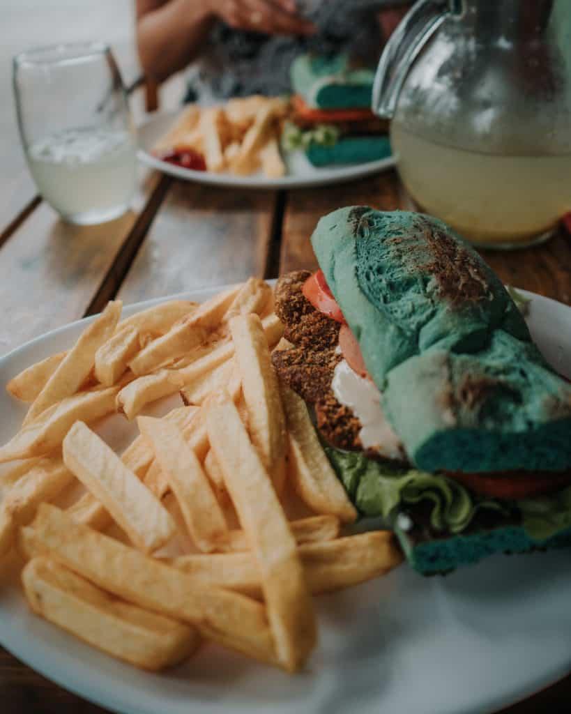 wegańskie kanapki Buenos AIres