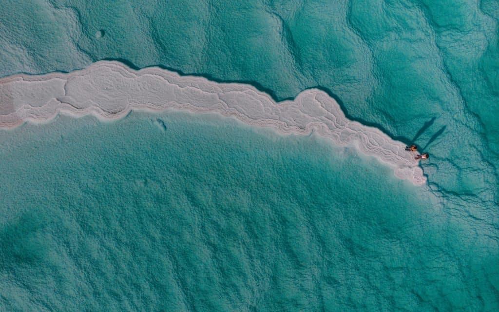 Salt Formations on the Dead Sea Dead Sea fun facts
