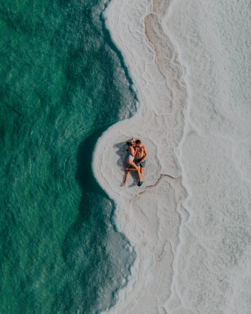 Dead Sea Couple