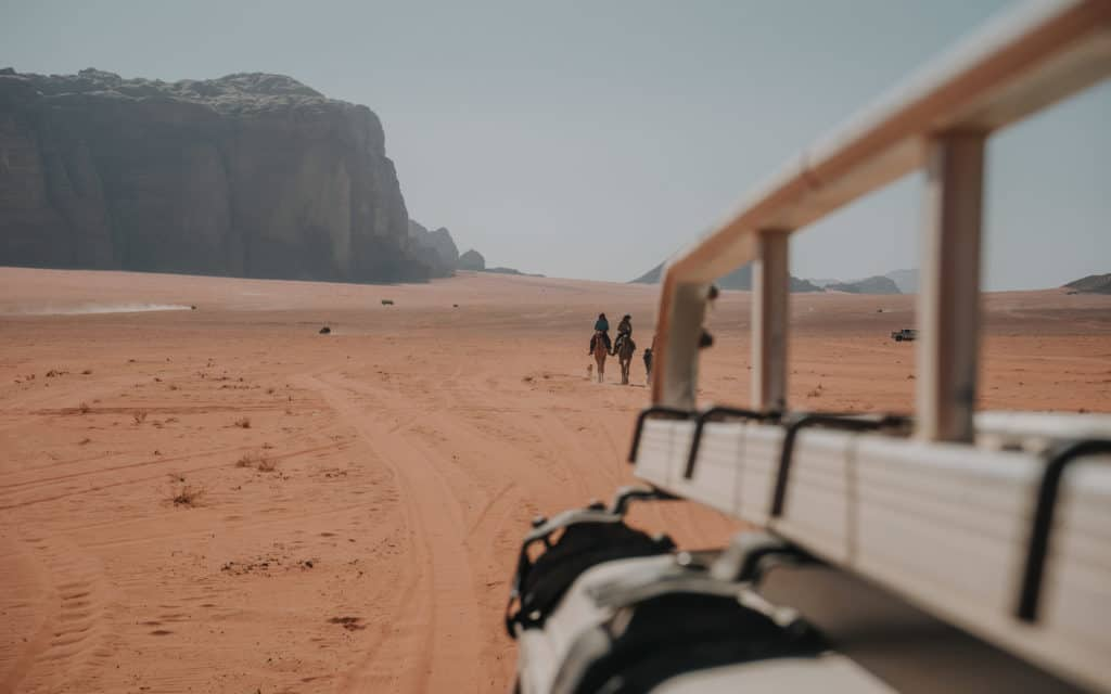 jordan wadi rum transport