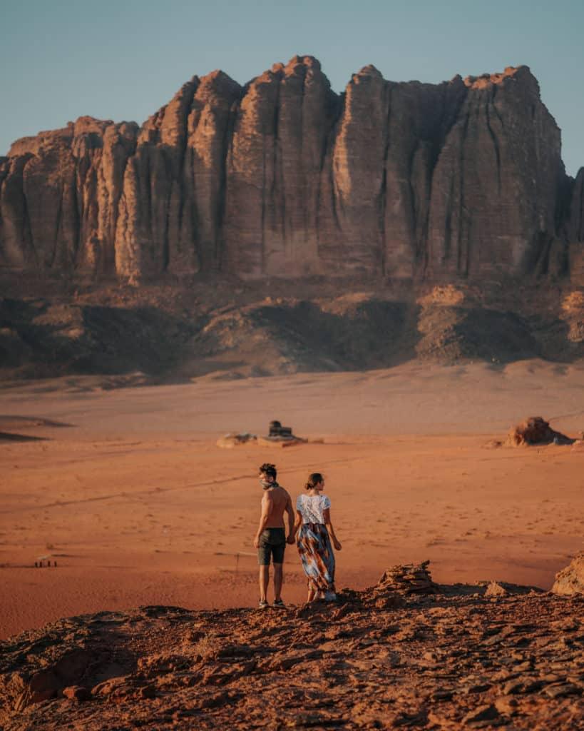 wadi rum zachód słońca jordania przewodnik