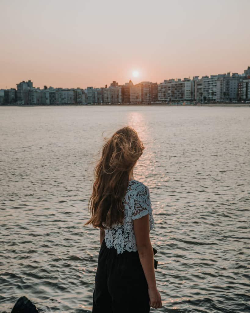 montevideo zachód słońca na promenadzie co zobaczyć w urugwaju