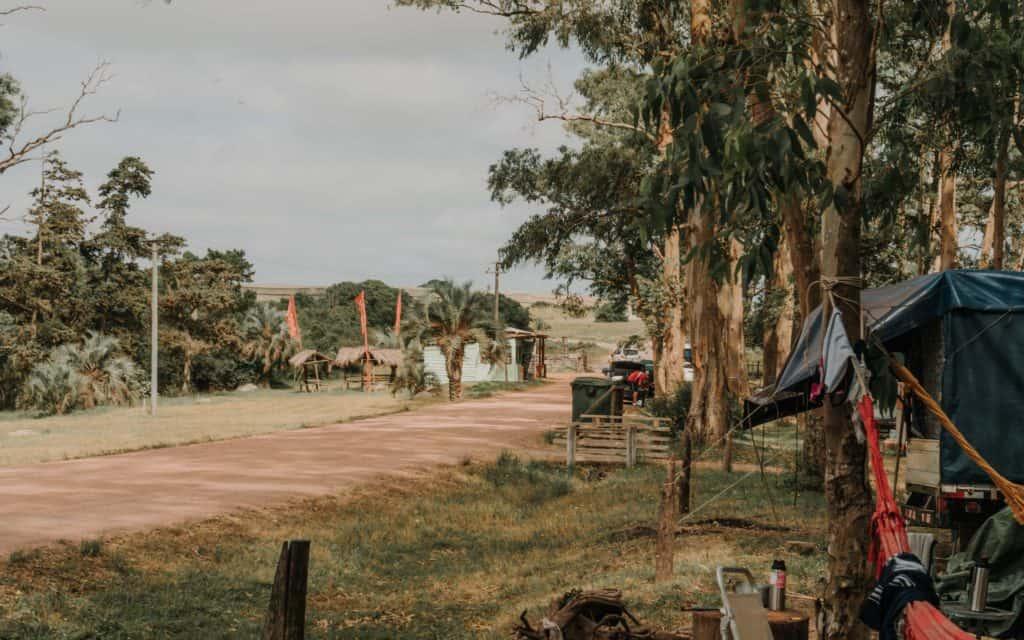 kemping w Santa Teresa Urugwaj