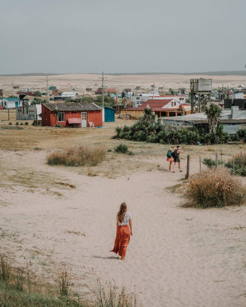 Cabo Polonia wioska najlepsze miejsca w Urugwaju