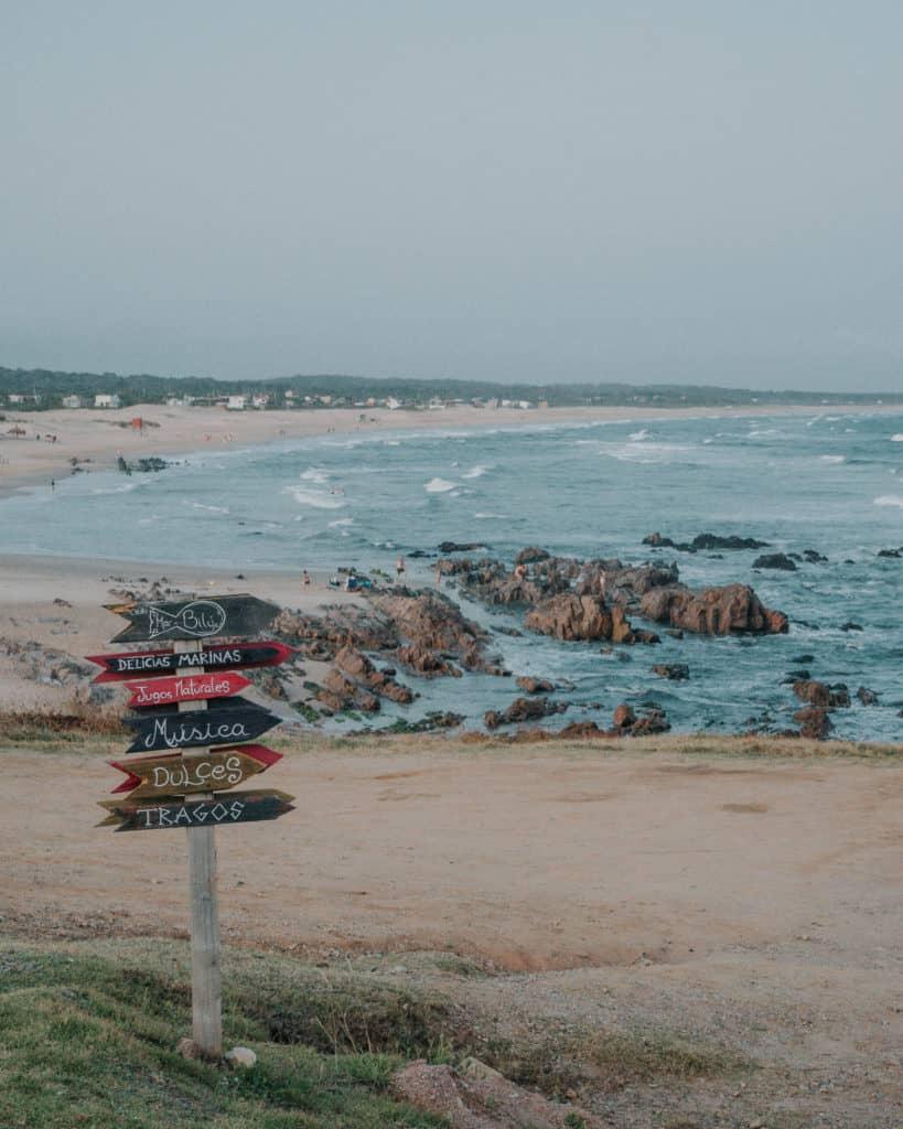 plaża w La Pedrera Urugwaj