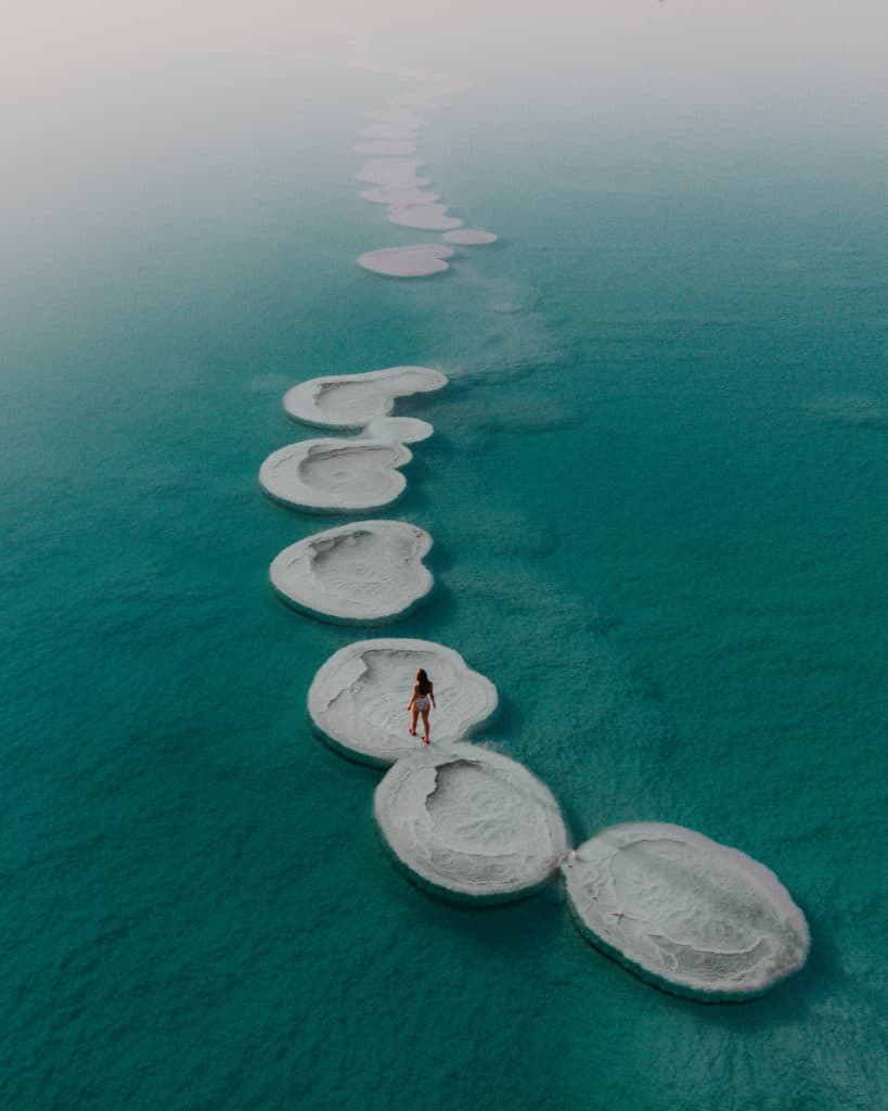 Round Salt Islands What to see In Dead Sea Guide