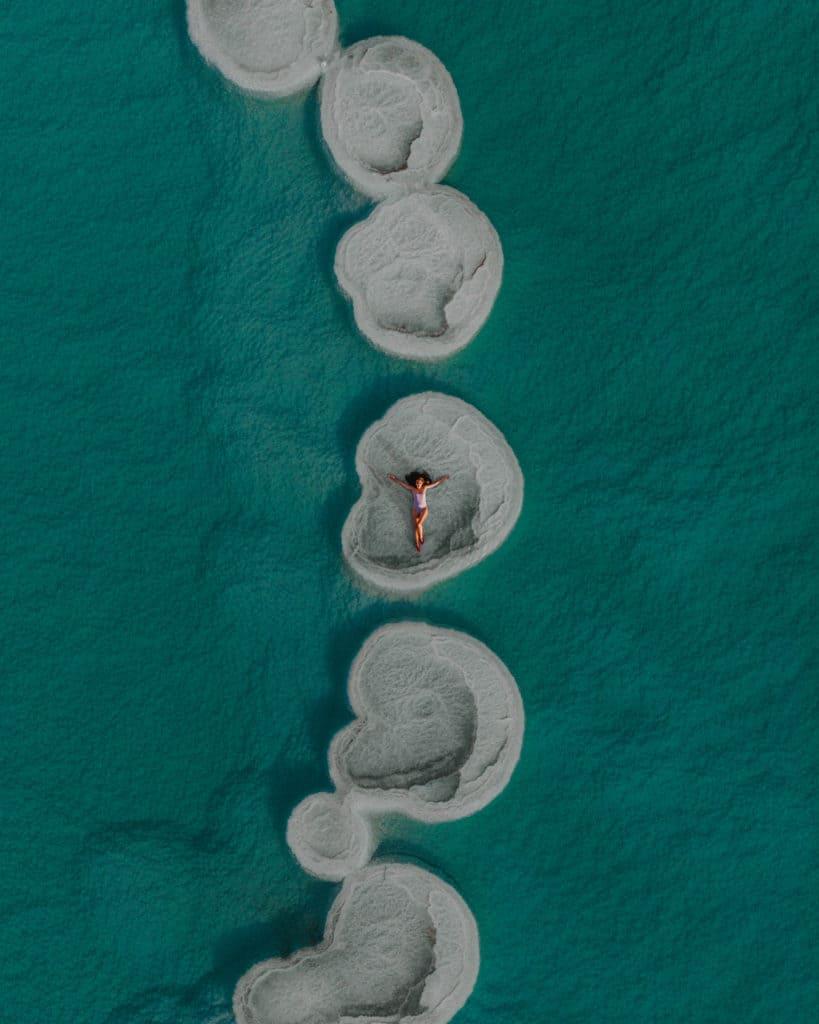 Round Salt Islands Israel