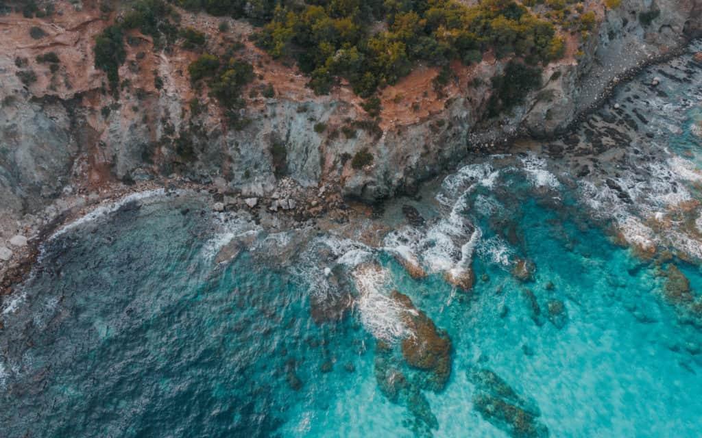 Półwysep Akamas z drona Cypr