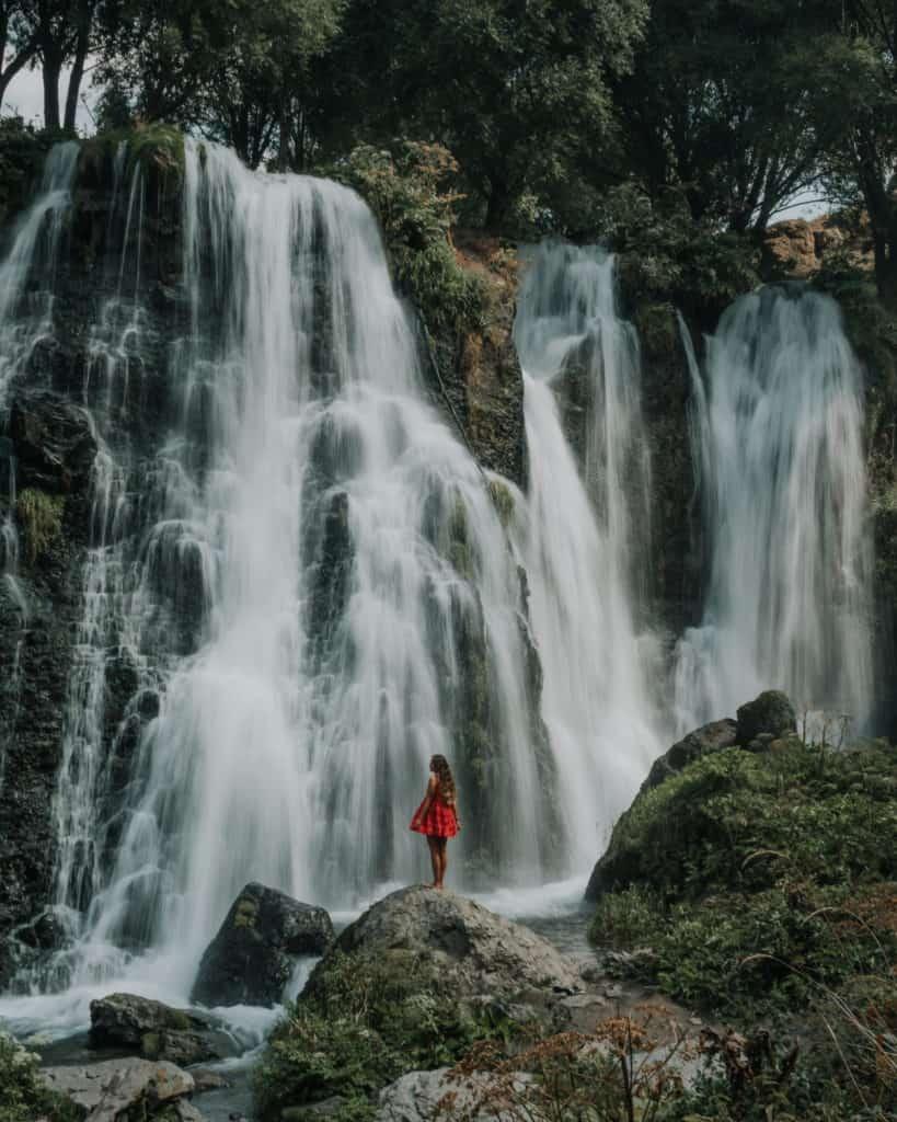 Sheki waterfall Armenia