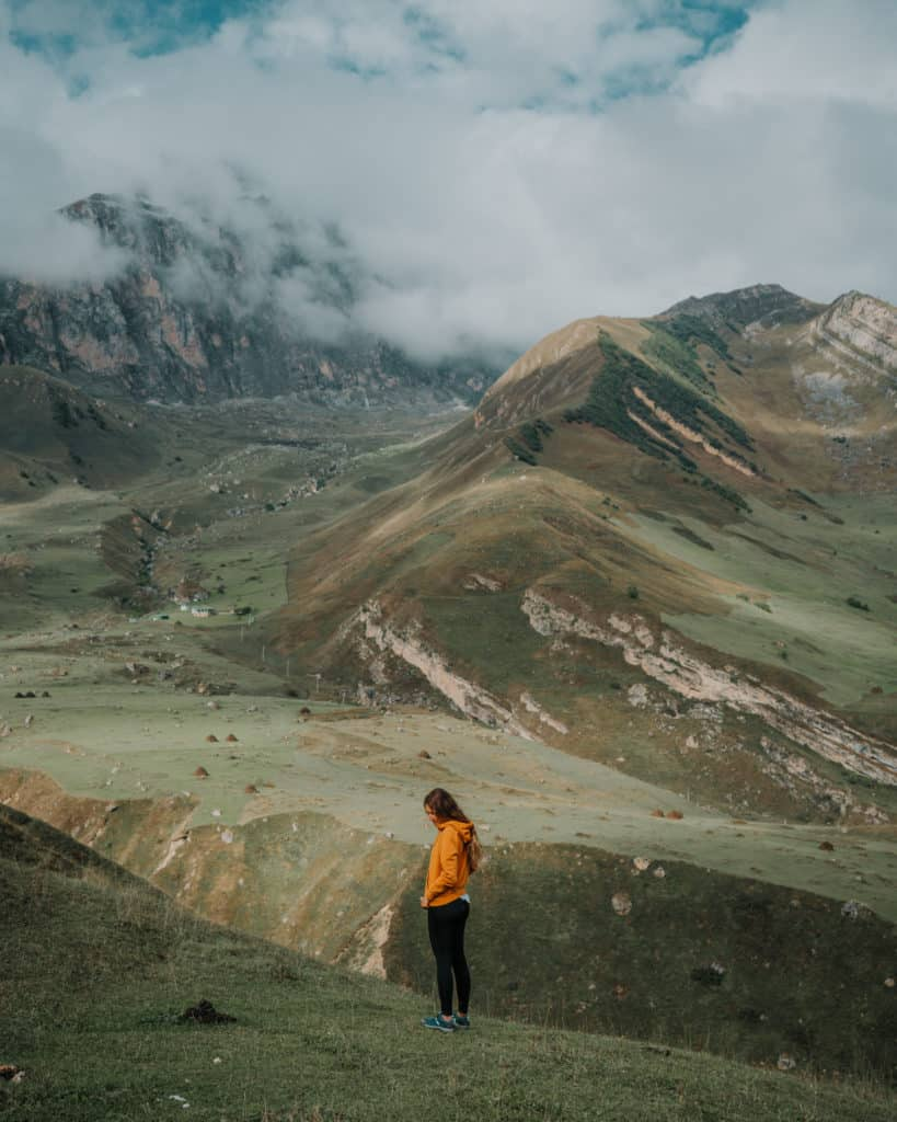 Laza Azerbaijan beautiful mountain village