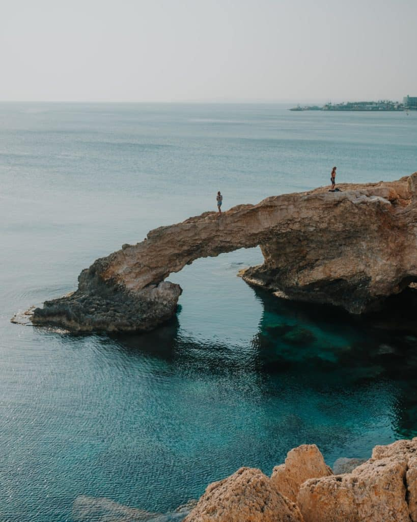 Lover's bridge Ayia Napa Cyprus