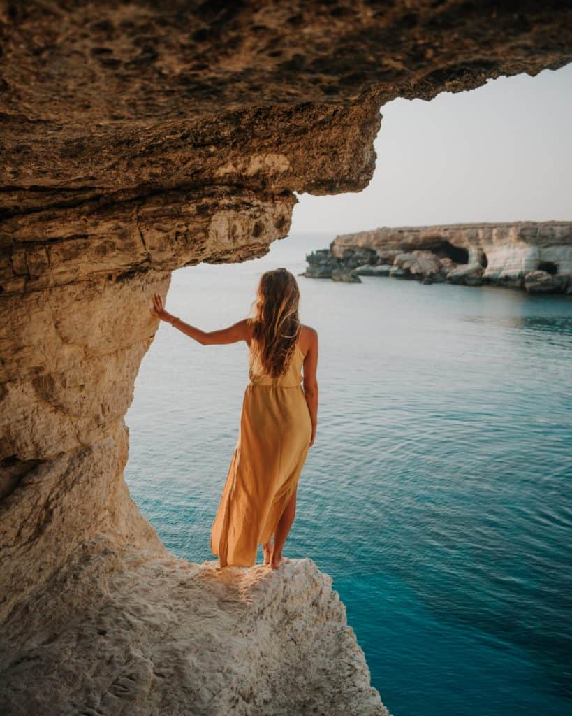 Sunset Sea Caves Ayia Napa Cyprus guide