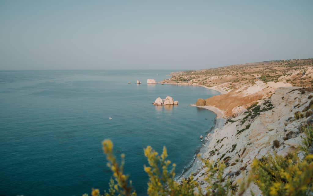 Best Off-Season Destinations. Aphrodite's Rock Cyprus