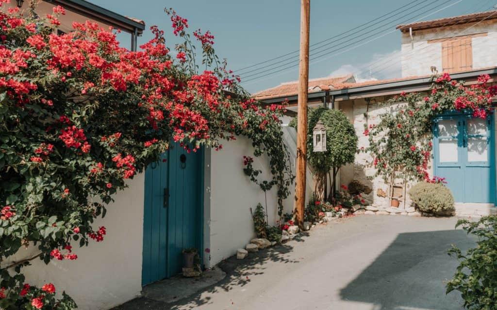 Lania urocze miasteczko na Cyprze