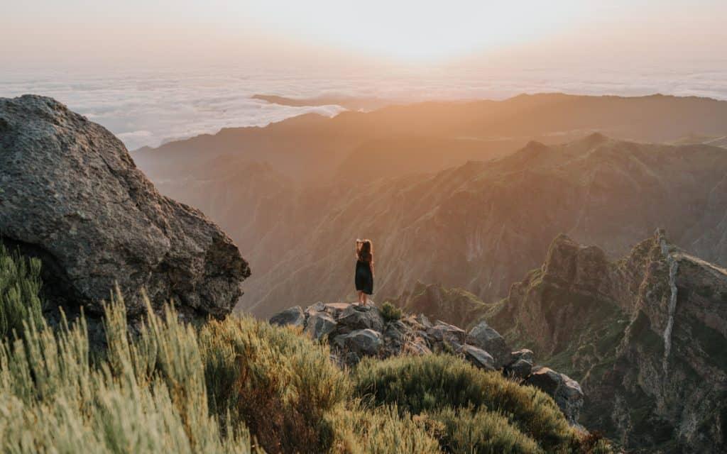 Pico Arieiro sunrise spot portugalia