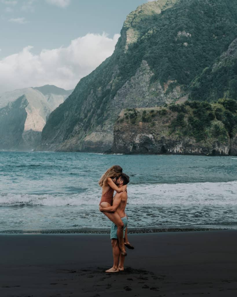 para plaża seixal madera najlepsze fotospoty