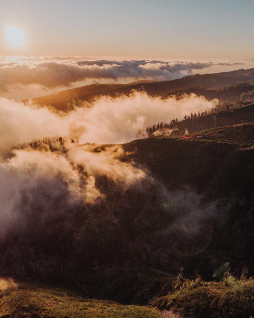 golden hour on Madeira