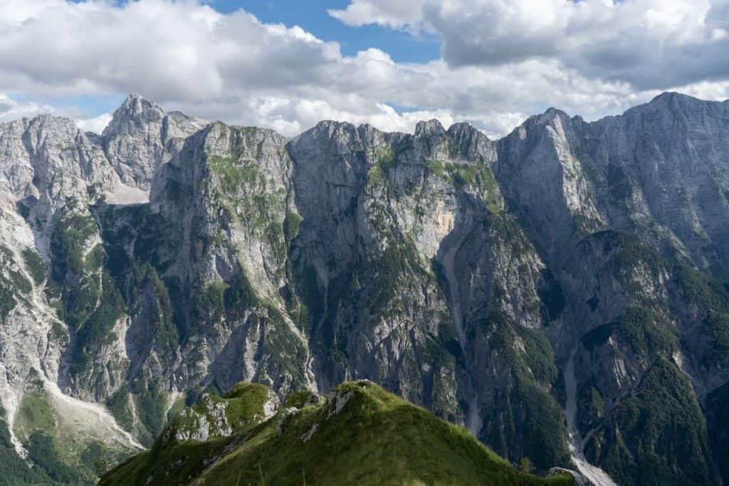 Mangart widok na góry Słowenia co zobaczyć