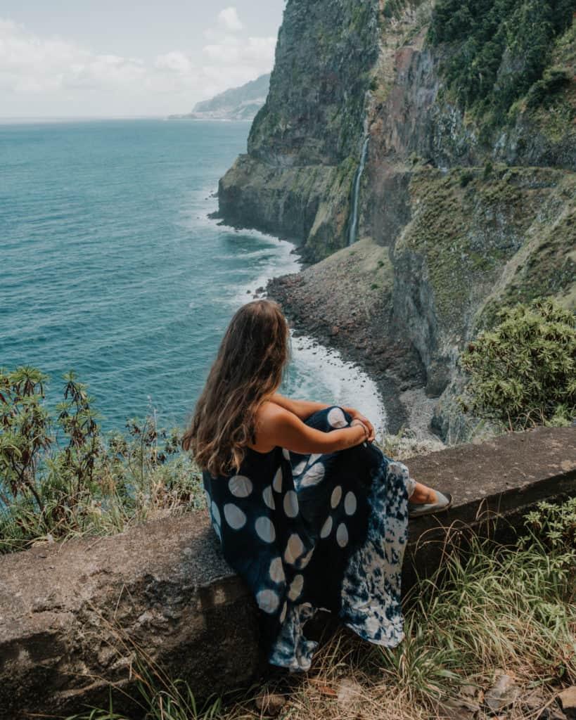bridal veil falls viewpoint Madeira