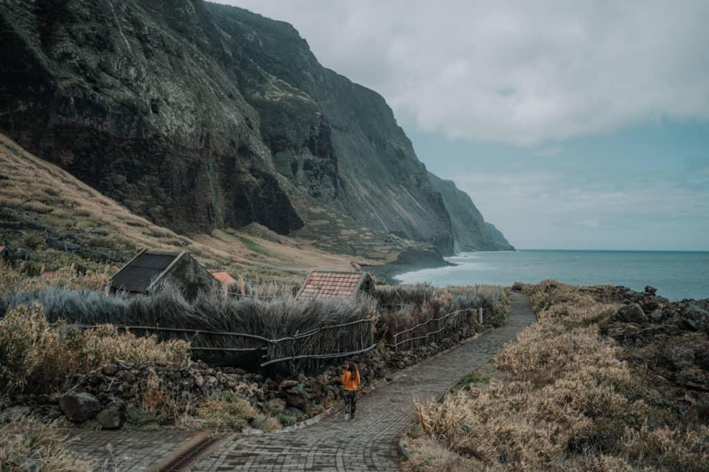 Achadas da Cruz cool spot on Madeira