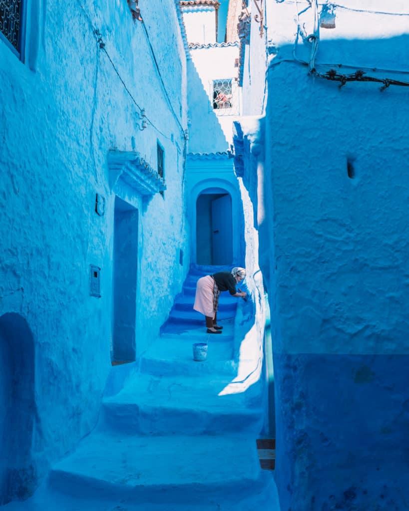 niebieskie miasto maroko przewodnik