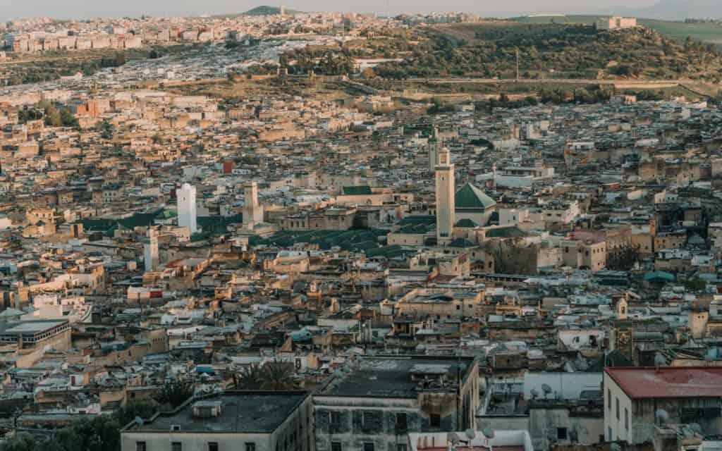 widok na Fez punkt widokowy maroko co zobaczyć