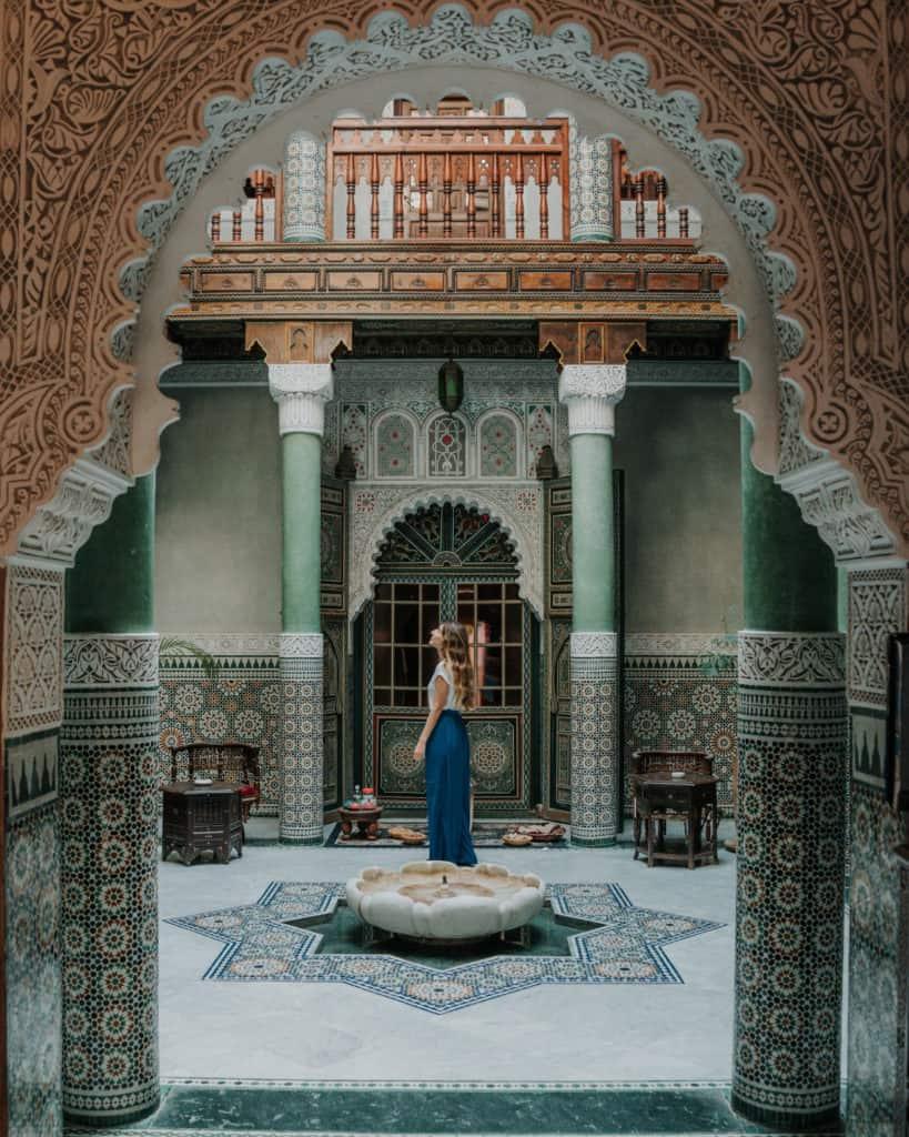 mumtaz mahal riad maroko gdzie spać essaouira