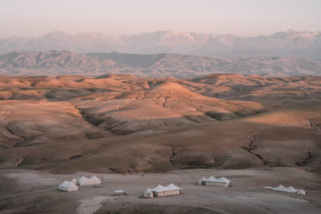pustynia agafay noclegi scarabeo camp maroko przewodnik
