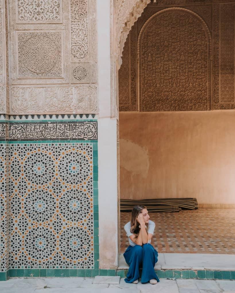 al-attarine madrasa fez w 1 dzień