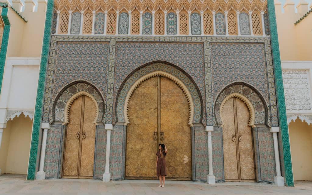 Royal Palace Fez w 1 dzień przewodnik Maroko
