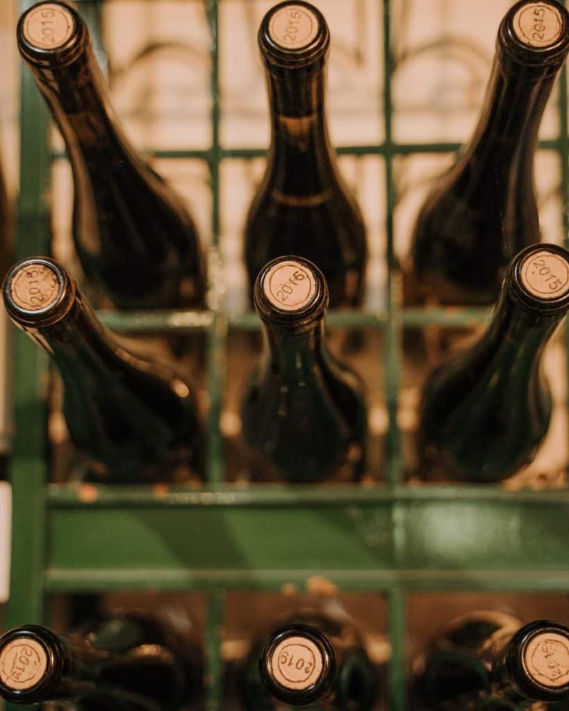 bottles of wine szaszi pince balaton