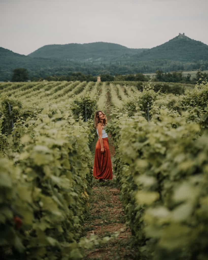 girl szaszi pince winery balaton best places