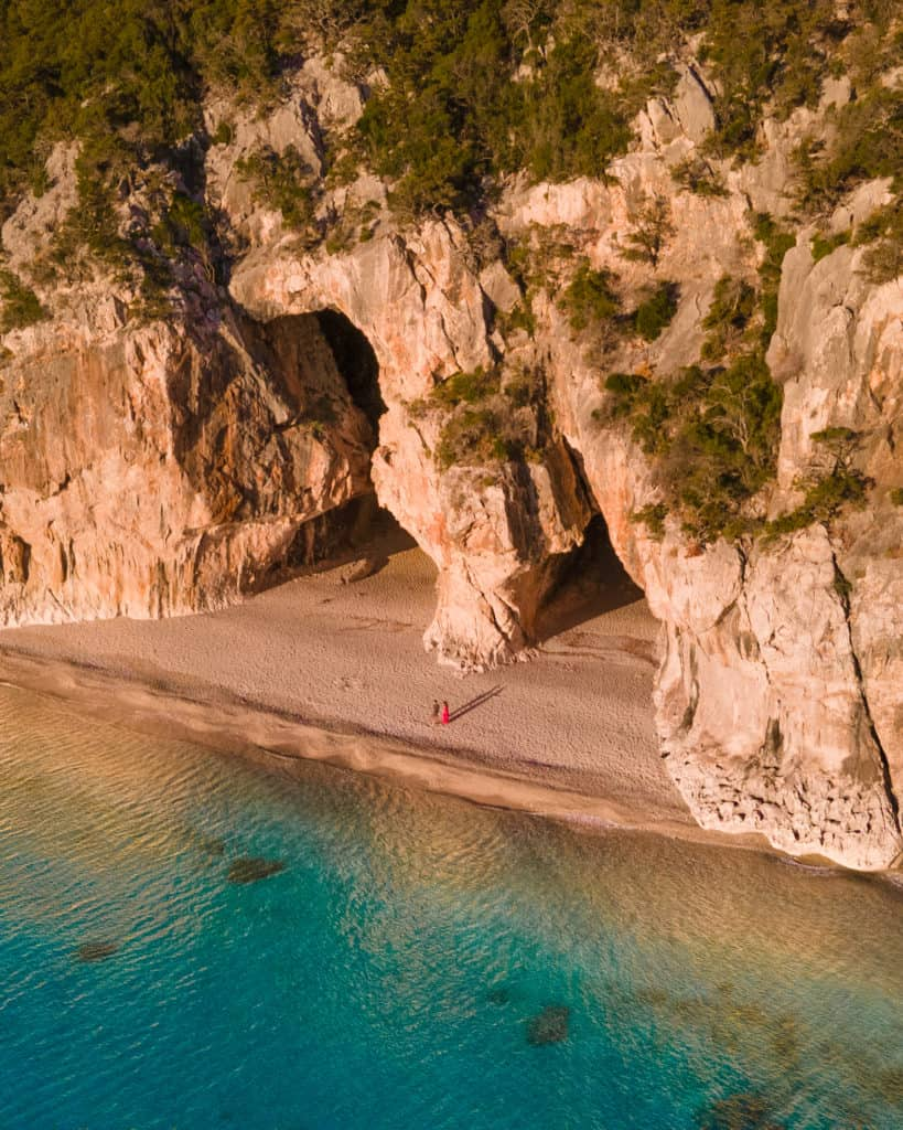 caves cala luna best beaches on sardinia