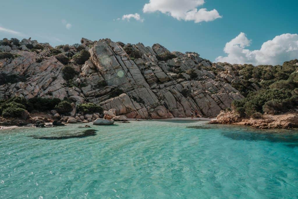 cala napoletana najlepsze plaże sardynia