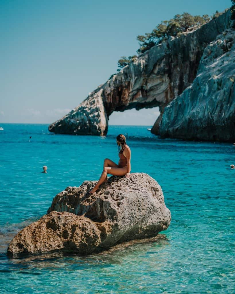 best beaches on sardinia cala goloritze